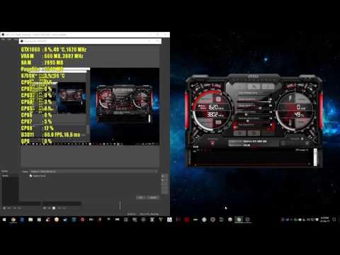 MSI AFTERBURNER | INGAME OVERLAY TUTORIAL CPU+GPU USAGE, FPS & TEMPS