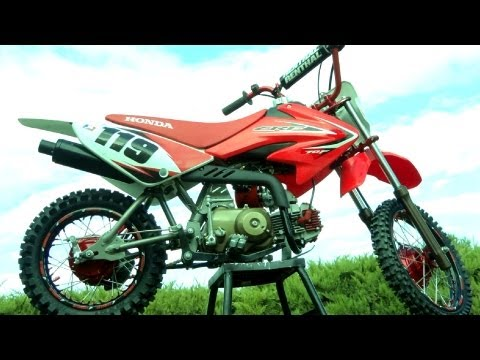 My Honda CRF70 Pitbike Build Transformation