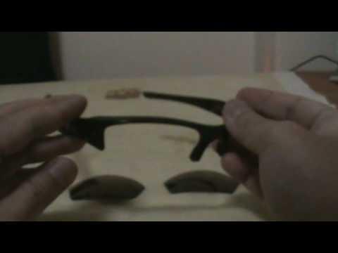 Oakley Flak Jacket Lens Installation Demo