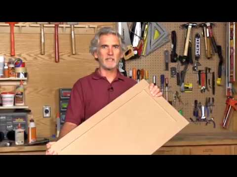 How to Build a Full Frame Cabinet Door with MDF