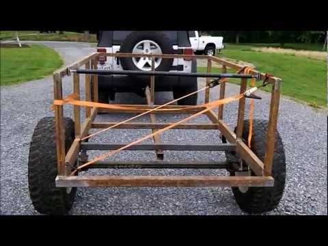Trailer build for CVT roof top tent.