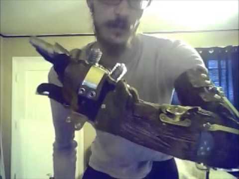 steampunk mechanical arm explanation