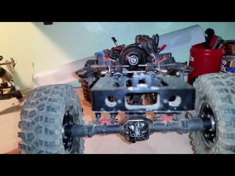 SNOWMOD RC - AXIAL SCX10.2 Rear Sway Bar