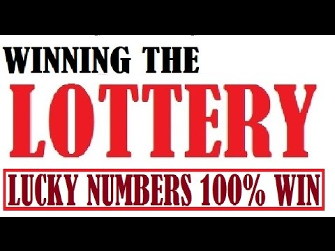 Winning the Lottery Jackpot - Lucky Numbers (New Set 2017)
