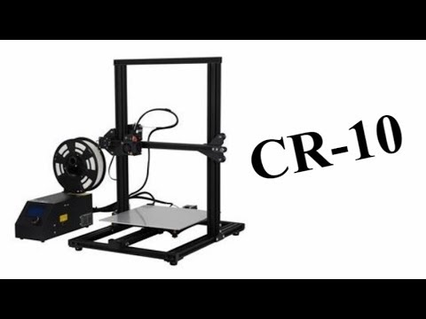 Creality CR-10 3D Printer - Unboxing & Review