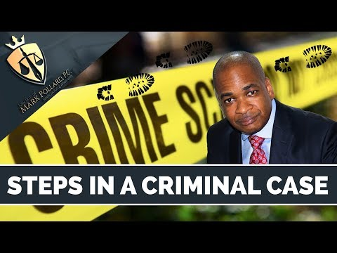 The Steps in a Criminal Case in New York