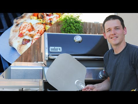 BBQ Pizza on Gas Grill | Grilled Pizza Tips