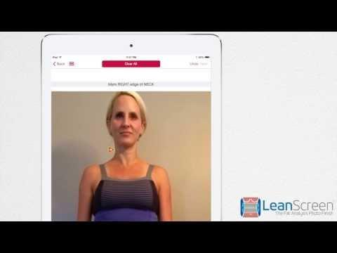 LeanScreen App - Calculate Body Fat, Waist Hip Ratio, BMI, and BMR
