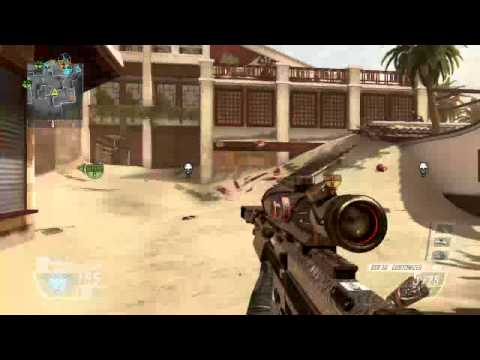 Black Ops 2 DSR Quickscoping Montage