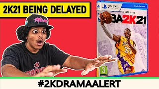 NBA 2K21 TO BE DELAYED ON NEXT-GEN, 2K PLAYERS REACT TO HORRIBLE NEWS
