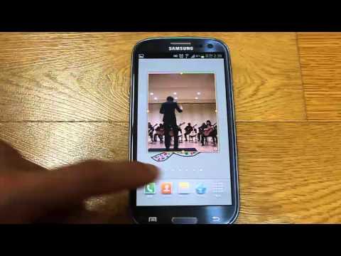 Samsung Galaxy S3 Picture Album Widget
