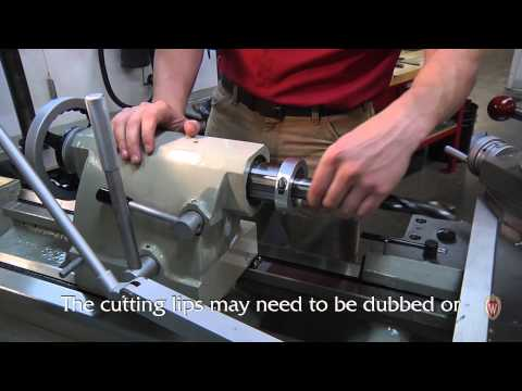 Drilling Large Diameter Holes on a Lathe