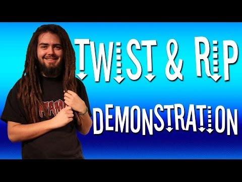 How To Make Dreadlocks - Twist & Rip Method!
