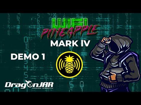 WiFi Pineapple Mark IV (Piña WiFi) PoC