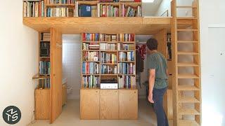 NEVER TOO SMALL 31sqm/344sqft Paris Architect's Micro Apartment - Jourdain