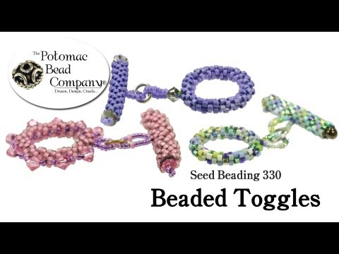 How to Make Beaded Toggle Clasps (Seed Beading 330)