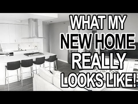 FIRST WEEK NEW HOME TOUR: What my new apartment REALLY looks like!