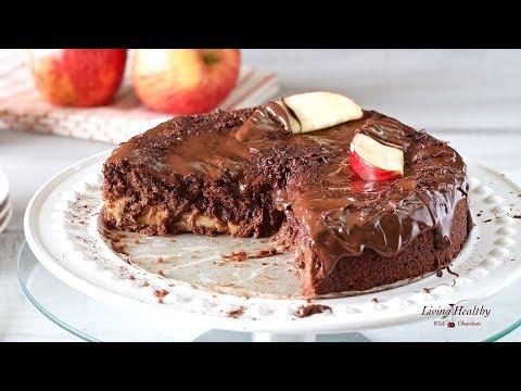 Apple Chocolate Cake (gluten/grain/dairy-free, Paleo)
