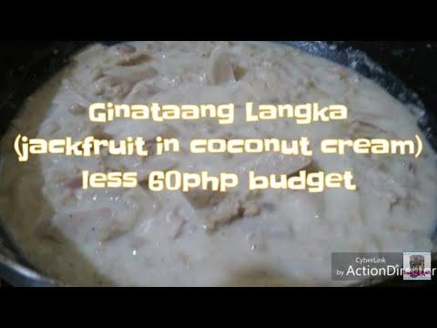 Ginataang Langka (LESS 60Php CHALLENGE)