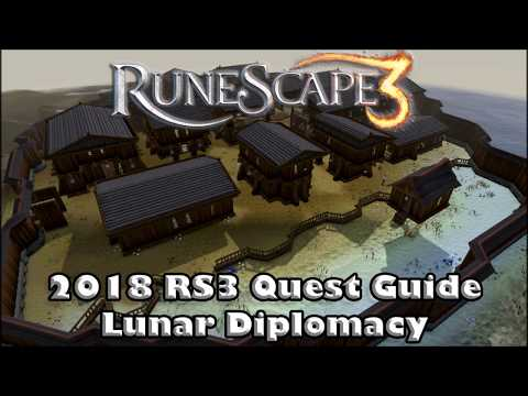 RS3 Quest Guide 2018 -  Lunar Diplomacy  How to unlock Lunar Spells
