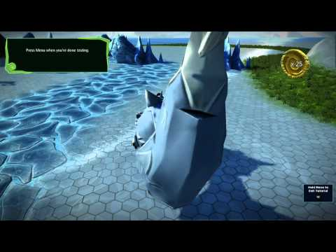 Project Spark: giant fox as player