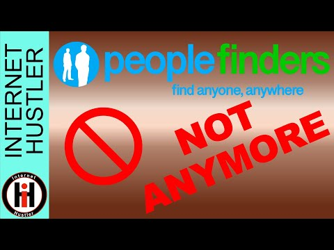 People Finders Opt Out Of Public Record Database - Spencer Coffman