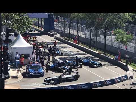 Formula E weekend in Montréal