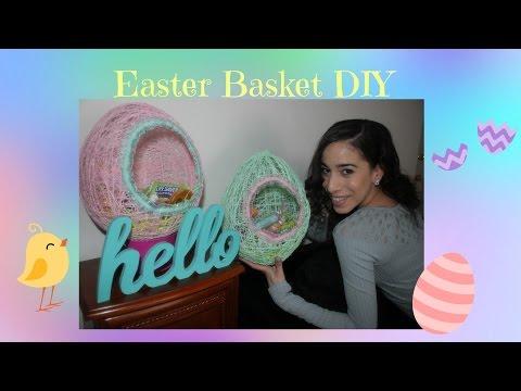 Easter Egg Basket DIY