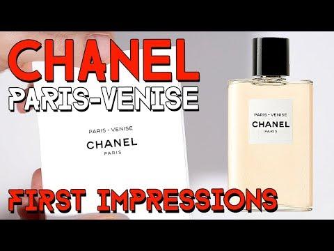 LES EAUX DE CHANEL - PARIS - VENISE - first impressions