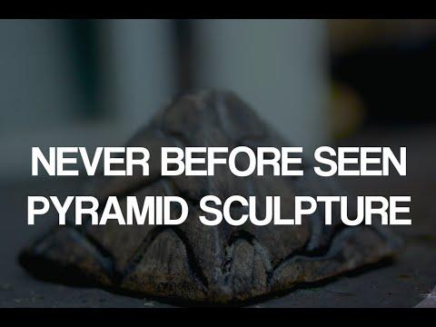 Never Before Seen Pyramid Sculpture Art: Custom Handcrafted