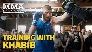 Training With Khabib: Teammates Talk What Makes Nurmagomedov Different - MMA Fighting
