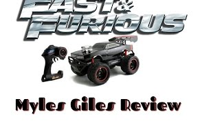 Fast and Furious FF 8 rc Review + Test Drive Elite Off-Road Dom's Dodge Charger