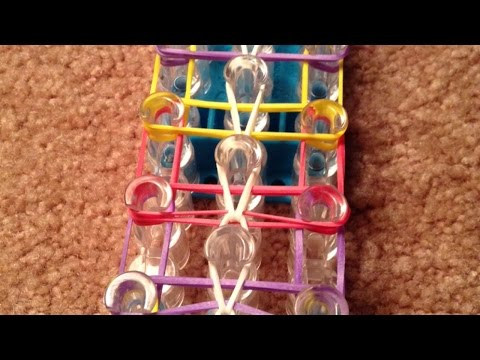 How To Make a Colorful Rainbow Loom Ladder Bracelet - DIY Crafts Tutorial - Guidecentral