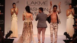 Prateik Babbar & Amyra Dastur for Ken Ferns at Lakme Fashion Week