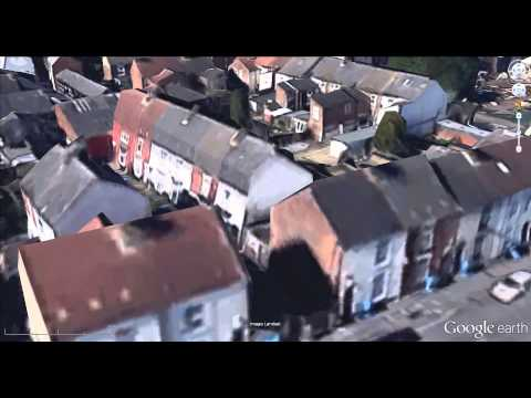 Aerial tour of Hull and Beverley using Google Earth 3D buildings