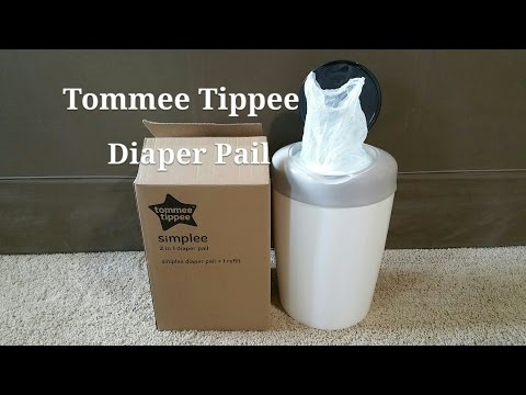 Tommee Tippee Simplee Diaper Pail cheaper than Diaper Genie