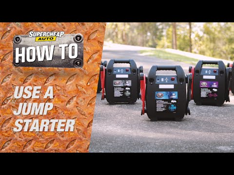 How to - Jump Start Your Car // Supercheap Auto