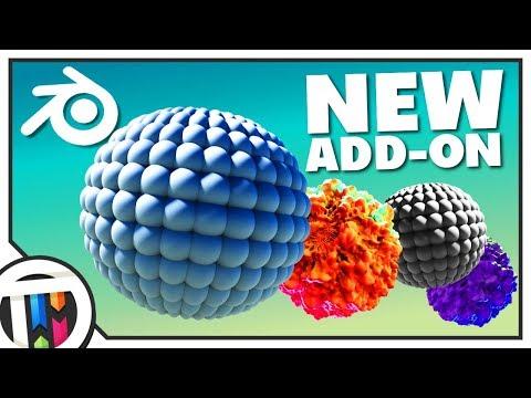 Blender Tutorial - New Tissue Addon in Blender 2.79