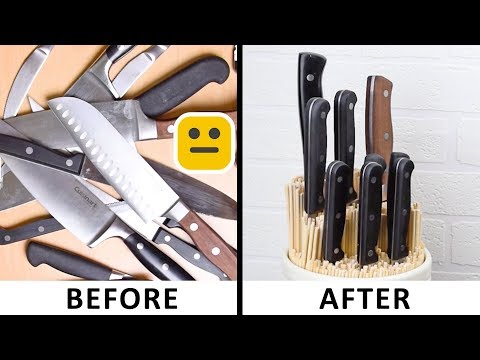 ORGANIZATION HACKS You Need To Know ! Make Your Life Around The Kitchen Easier | DIY HACKS and More