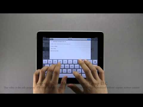 Apple iPad Tutorial Part 3