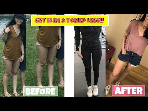 HOW I TONED/SLIMMED MY LEGS IN 3 MONTHS!!
