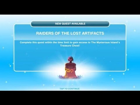 [The Sims Freeplay] - Raiders Of The Lost Artifacts Görevi