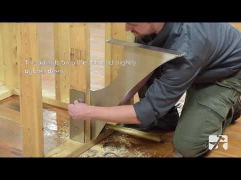 HOW-TO: Foss Shower Bench Bracket Installation