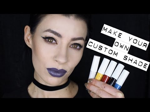 Color Theory and Lip Mixology to Make your Own Custom Lip Shade