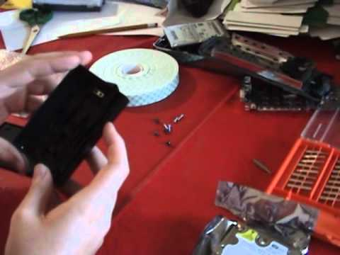 How to put an old style xbox 360 hard drive in a slim case