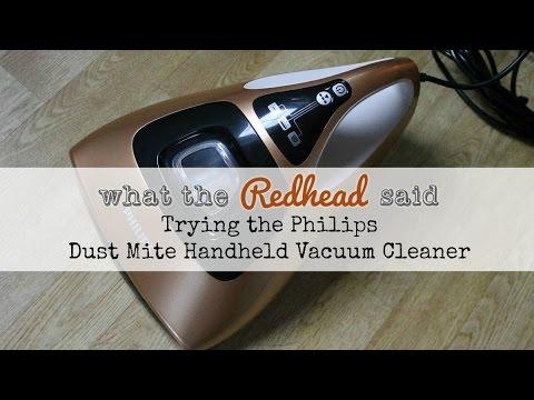 Philips Dust Mite Hand Held Vacuum Cleaner
