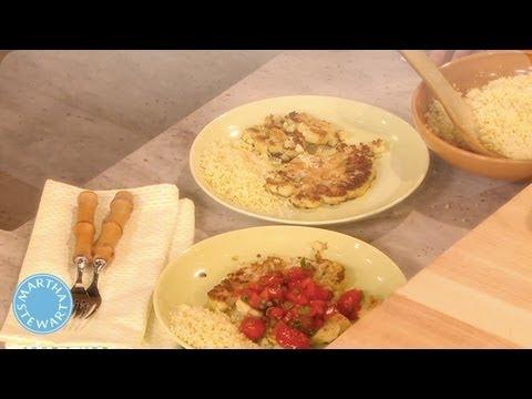 Cauliflower Steaks - Meatless Mondays - Martha Stewart