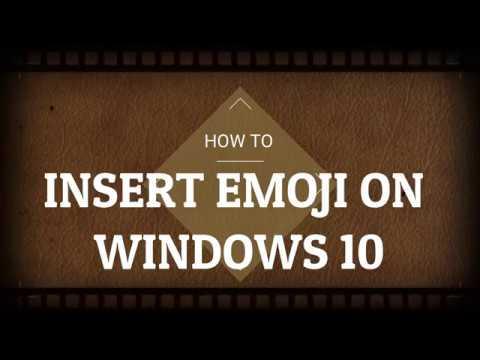 How to insert emojis😜 on PC/Laptop on Windows 10 | Emoji Picker Windows 10