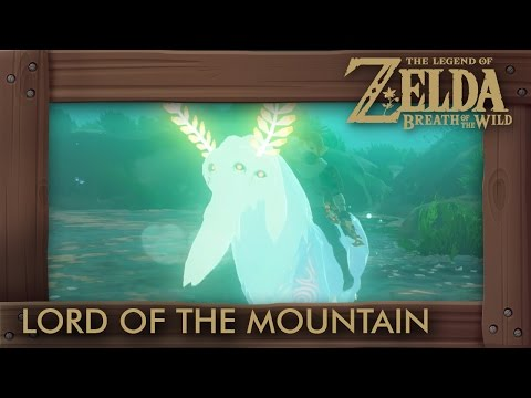 Zelda Breath of the Wild - Lord of the Mountain Location