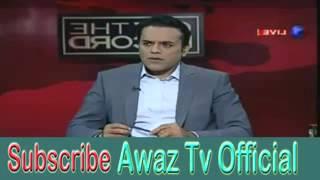 Pakistani Talk Shows Fight 2015   Journalist Arshad Sharif Exposed Rana Sanaullah and Bhola Gujjar